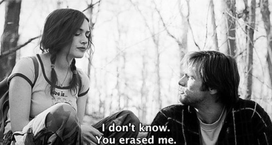 The movie: Eternal sunshine of the spotless mind